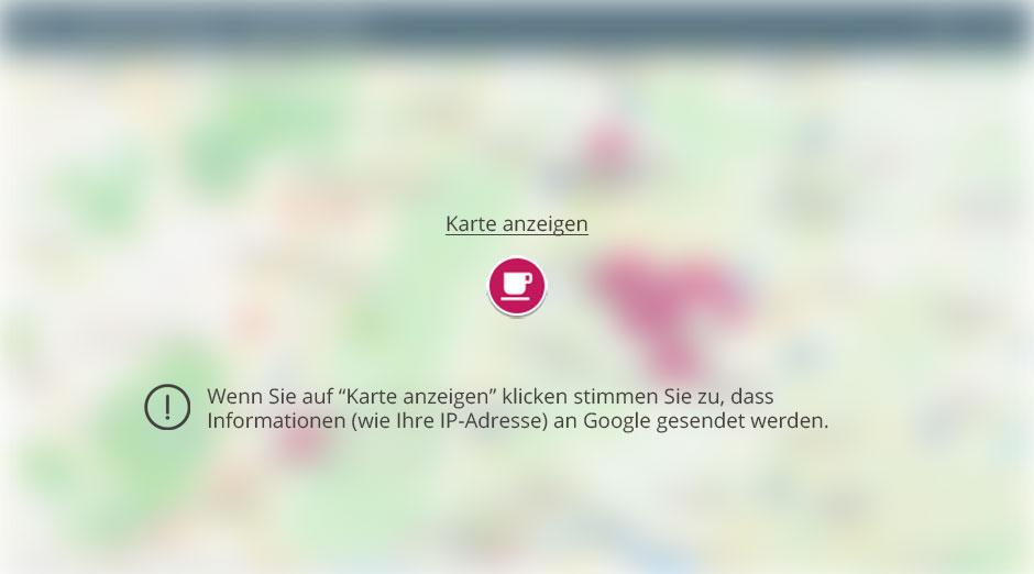 Google My Map anzeigen
